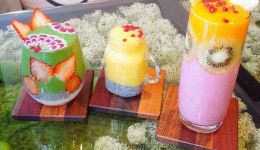 大阪天満橋にある「JTRRD Cafe」のインスタ映えスムージーが大人気