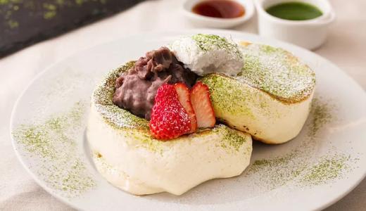 ふわとろを超えた😆バンクス渋谷から、なめらかシルクの新食感パンケーキ「抹茶ティラミスパンケーキ」が登場🥞
