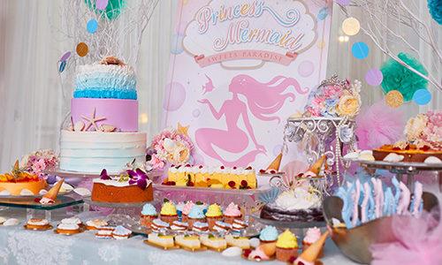 人魚姫をテーマにしたデザートブッフェ「プリンセス・マーメイドのスイーツパーティー」開催🐚