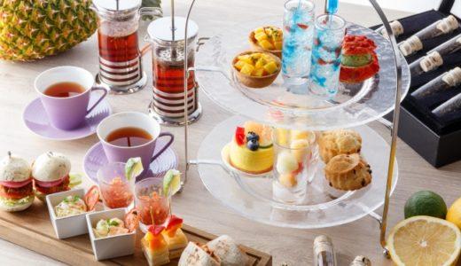 琵琶湖マリオットホテル🏨夏の琵琶湖をイメージした「Afternoon Tea~Summer Experience~」を提供🎐6月1日(金)~9月2日(日)